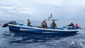Un buque de guerra holandés incautó 80 kilos de cocaína frente a aguas venezolanas