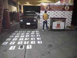 Detienen a un sujeto con más de nueve kilogramo de presunta droga en Táchira