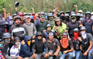 """""""Cuadrillas de la paz"""", alarmante institucionalización de colectivos chavistas contra protestas legítimas"""