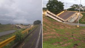 """Otro """"monumento"""" de Maduro: Distribuidor de Cantaura se desplomó en Anzoátegui (Fotos y Video)"""