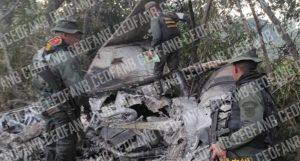 "EN FOTOS: Régimen derribó una presunta ""narcoavioneta"" en Zulia"
