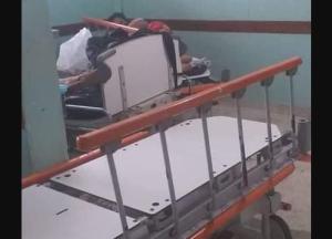 Dantesca escena: Así luce la sala de parto del Hospital Universitario en Guanare (Fotos y Video)