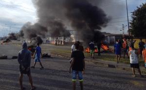 En llamas: Descontento popular en Cojedes se redobló ante la escasez de gasolina (Fotos y Video)