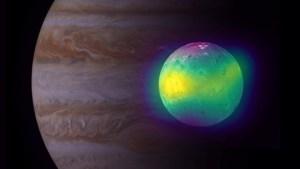 Observaron por primera vez efectos de vulcanismo en la atmósfera de una luna de Júpiter