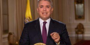 Duque rechazó los bloqueos de manifestantes durante protestas en Colombia (Video)