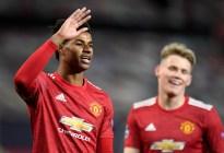 El Manchester United aplastó al Leipzig con un triplete de Rashford