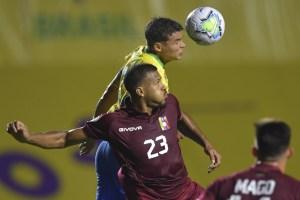 Con lo justo, Brasil superó a una Vinotinto castigada por las lesiones