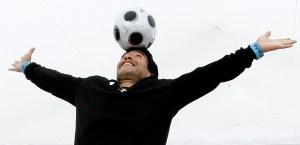 Las FOTOS de Diego Maradona que dieron la vuelta al mundo