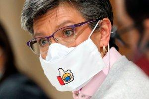Alcaldesa de Bogotá cuestiona duramente la falta de vacunas en el país
