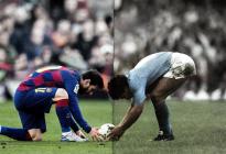 Diego es eterno: El lamento de Messi sobre la muerte de Maradona