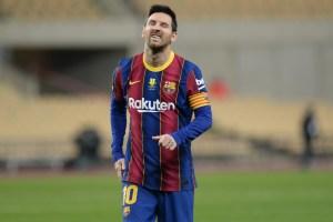 Los memes no perdonaron la expulsión de Messi en la final de la Supercopa