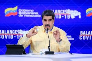 """La Academia Nacional de Medicina sobre las """"goticas milagrosas"""" de Maduro: Solo sirven como enjuague bucal"""