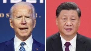 """Pekín advierte a Biden que contener a China es una """"misión imposible"""""""