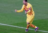 """La FOTO del regreso de Leo Messi con el Barcelona que se volvió viral: """"1 vs 5"""""""