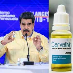 """Del té de malojillo al carvativir: La """"solución"""" de Maduro contra el coronavirus"""