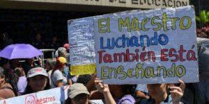 AN legítima rechazó las desigualdades sociales y las condiciones de vida de los maestros venezolanos