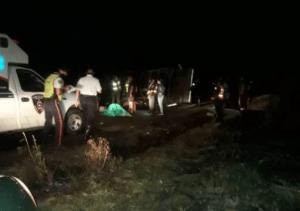 En imágenes: Múltiples fallecidos tras volcamiento de un convoy militar en Táchira