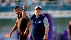 Así fue el emotivo homenaje a Maradona antes del partido entre Argentina y Chile (Video)
