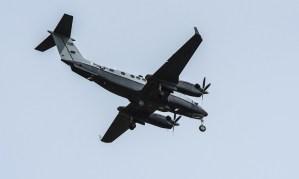 Un avión de reconocimiento sobrevoló durante dos horas La Guajira