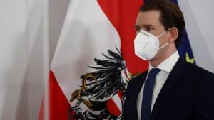 Austria critica estrategia de vacunación de la UE y se plantea colaboración con Israel y Dinamarca