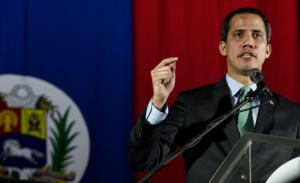 Guaidó condenó censura de la dictadura chavista y expresó su apoyo a El Nacional