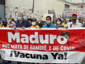 Alfredo Ramos se unió a la exigencia de todo un país: El ingreso de la vacunas (Imágenes)