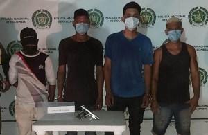 Por robo y hurto, fueron detenidos cuatro venezolanos en Colombia