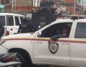 Delincuentes iniciaron enfrentamiento en Las Palmitas tras emboscar unidad de PoliCarabobo (Fotos)