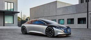 Mercedes-Benz EQS, el nuevo auto eléctrico que desafía a los Tesla de Elon Musk