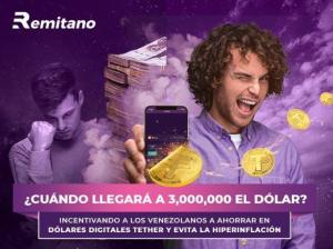 Adivina el precio del dólar y gánate +100 USDT con Remitano