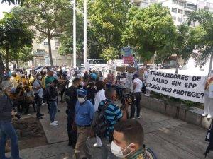 Basta de politizar la pandemia: Presidencia encargada apoya concentración porque #VzlaExigeVacunasYa