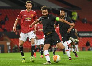 Manchester United eliminó al Granada de Yangel Herrera de la Europa League
