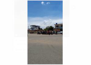 Reportan cierre del acceso a Camaguán en el estado Guárico ante la falta de combustible (Video)
