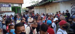 Como sardinas en lata: Así estuvo la estación Cúa del ferrocarril de Los Valles del Tuy este #13Abr (Fotos)