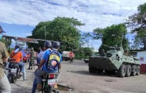 """Reportan fuerte presencia militar en límites con Apure pese a presunto """"acuerdo del cese al fuego"""" con disidencias(Foto)"""