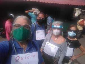 Merideños manifestaron este #17Abr para exigirle al régimen de Maduro un plan de vacunación masiva (Videos)