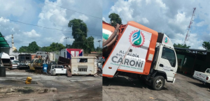 """La sede de """"Servicios Patrióticos"""" en el estado Bolívar luce como la Patria de Chávez: ¡Un verdadero desastre! (Fotos)"""