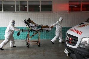 Brasil sobrepasó los 550 mil muertos por el Covid-19