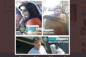 Pareja de Nueva York golpeó brutalmente a un trabajador postal en plena calle
