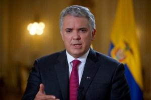 Duque pidió a EEUU declarar a Venezuela como promotor del terrorismo (Video)