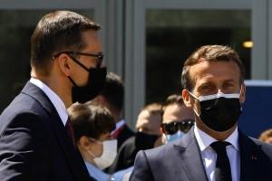Macron pide a EEUU acabar con prohibición de exportar vacunas y componentes