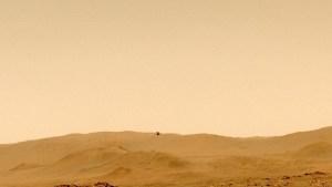 El Helicóptero Ingenuity de la Nasa marca nuevos récords en su quinto vuelo en Marte (Video)
