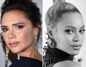 La emotiva confesión de Beyoncé a Victoria Beckham cuando se conocieron