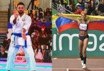 Yulimar Rojas y Antonio Díaz serán los abanderados de Venezuela para Tokio 2020