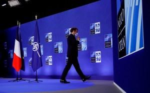 Macron pidió a la Otan que no se disperse para poner el foco sobre China