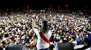 Cientos de seguidores de Fujimori denunciaron supuesto fraude ante la ONU