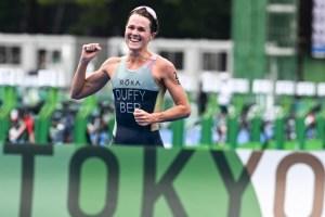Flora Duffy ofreció a Bermudas la primera medalla dorada histórica tras ganar triatlón