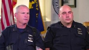 Héroes sin capa: Oficiales salvaron a una mujer y a su bebé atrapados debajo de un auto en Nueva York (VIDEO)
