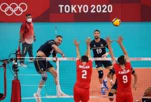 Venezuela cayó ante Irán en su segundo duelo de voleibol olímpico