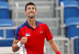 Djokovic dejó en el camino a Davidovich y pasa a cuartos de final del tenis olímpico